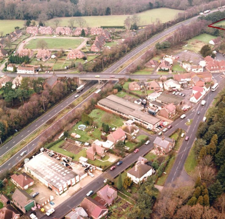 Aerial view of Handcross (3)