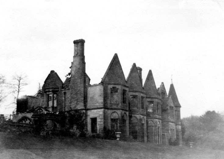 High Beeches house damaged by Halifax bomber