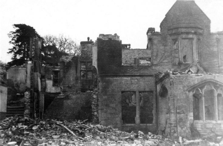 High Beeches damaged by Halifax bomber