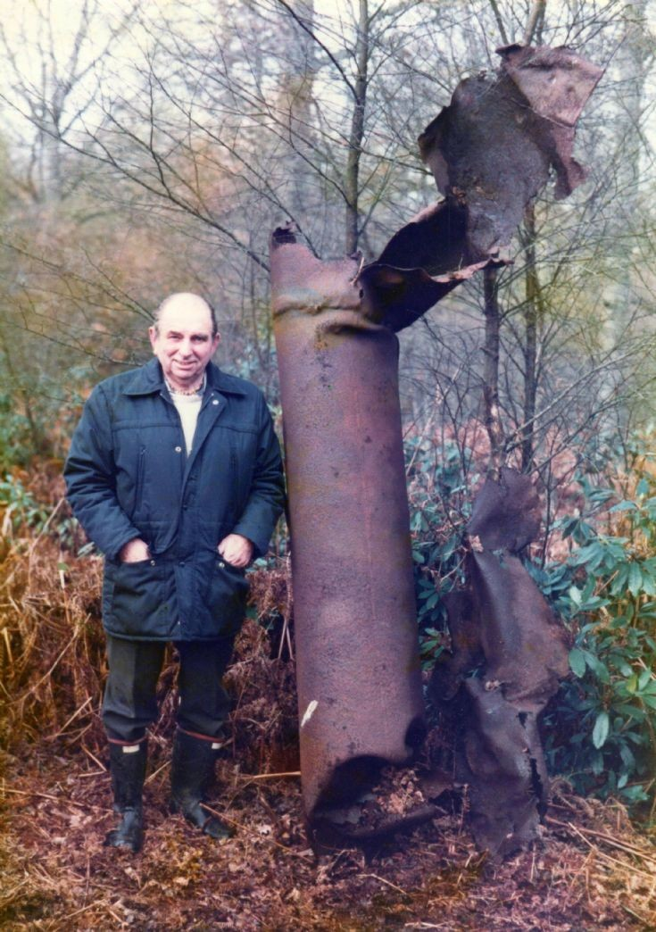 Doodlebug found in Handcross woods