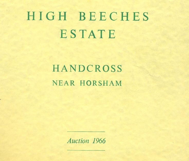 High Beeches auction 1966 Lots 1 to 5