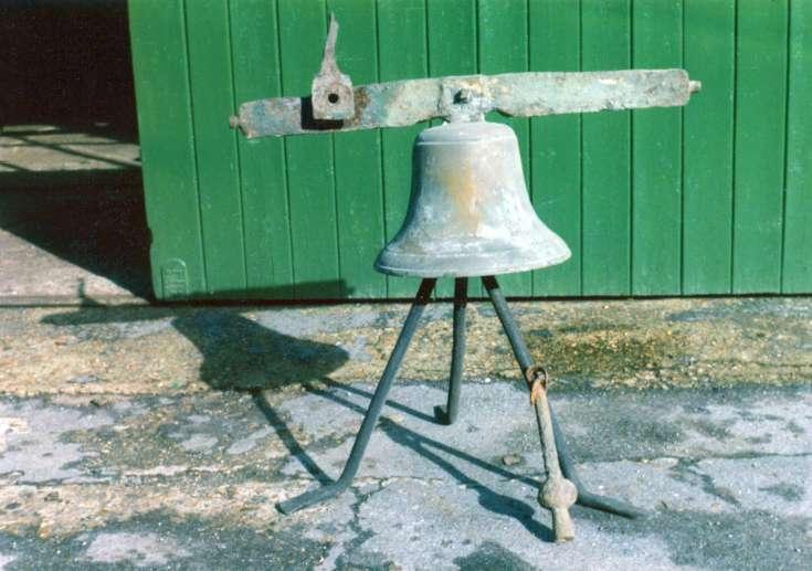 Handcross school bell awaiting restoration