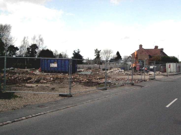Housing development in Brighton Road, Handcross