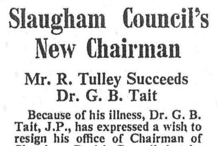 Slaugham Parish Council matters 1958-1964