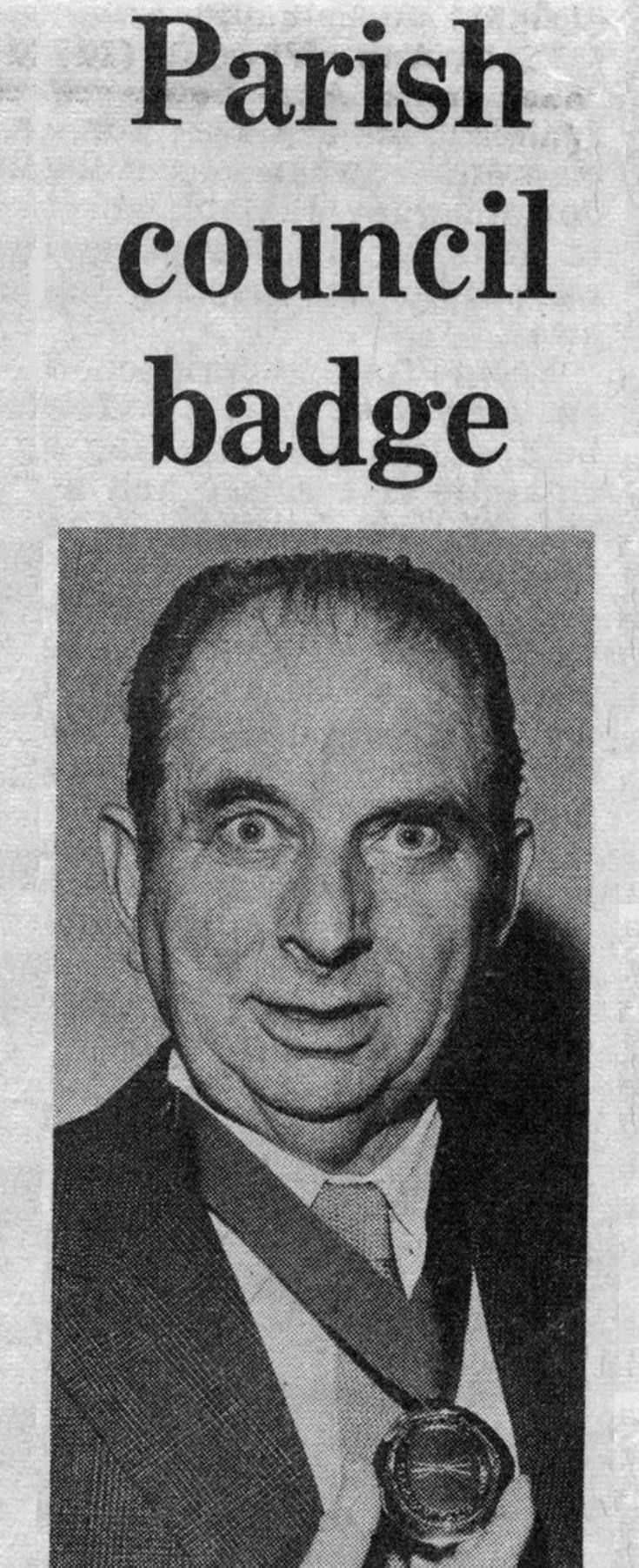 Slaugham Parish Council matters 1972-1975