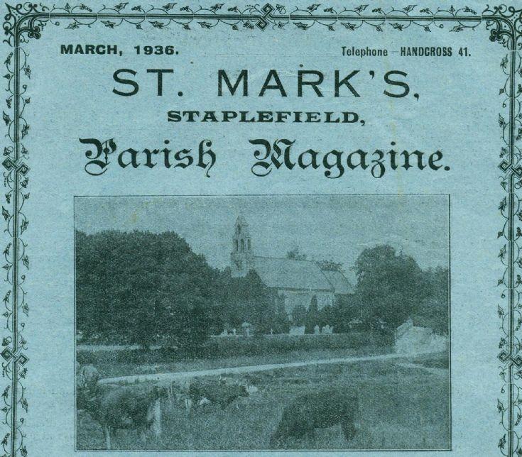 Staplefield Parish Magaziine 1936