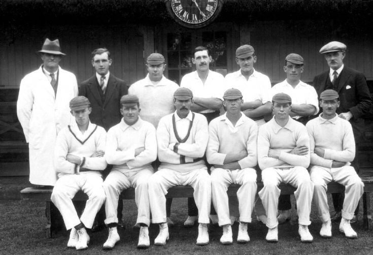 Cricket team of the Hyde estate in Handcross