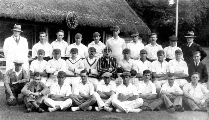 The Hyde cricket team from Handcross