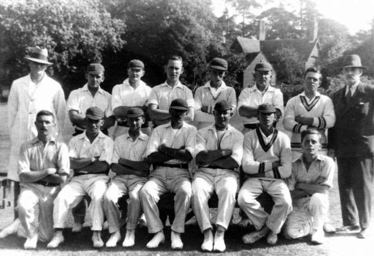 Hyde cricket club, Handcross 1933