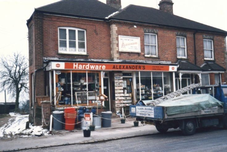 Alexander's Hardware in High Street, Handcross