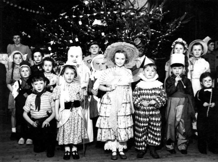 Children's Christmas party in Parish Hall