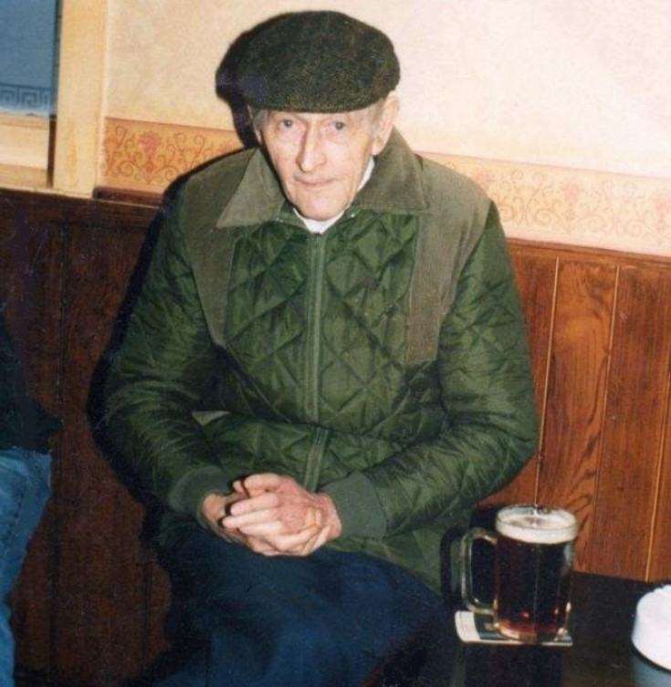 Ron Edwards in the Fountain Inn, Handcross