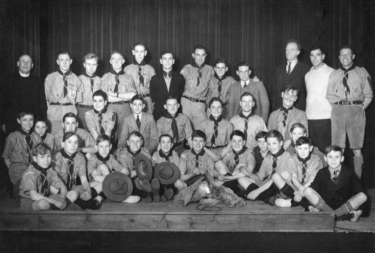 1st Slaugham Scout Troup in March 1938