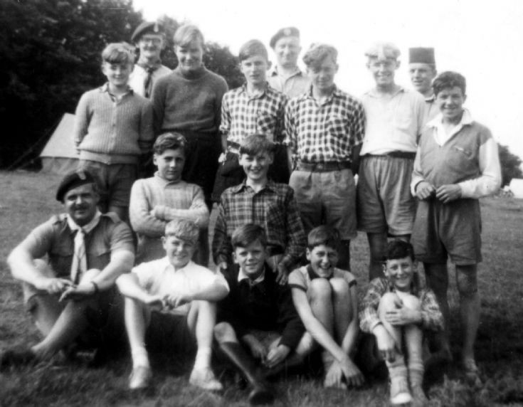 1st Slaugham Scouts at summer camp