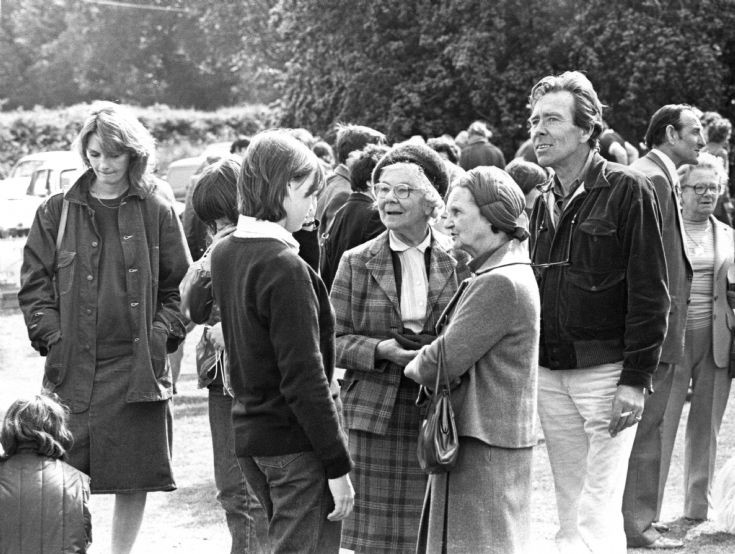 Fete on Staplefield Common 1980