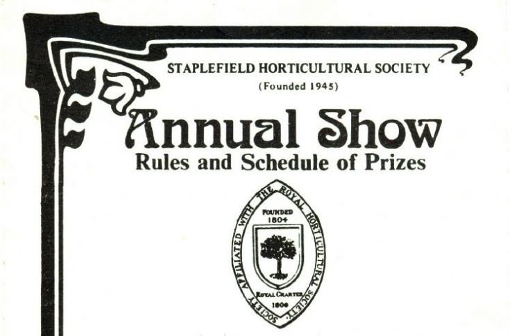 Staplefield Horticultural Show 1984