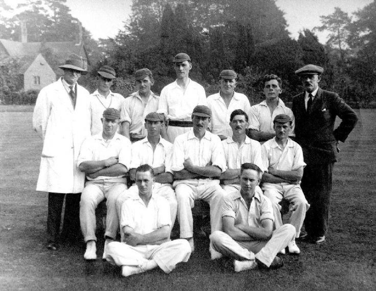 Hyde cricket team at Handcross
