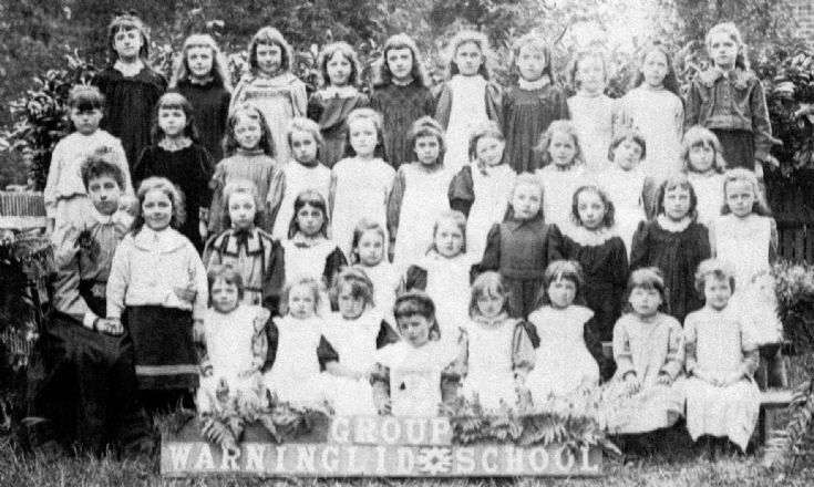Warninglid School photograph of Group 2 girls