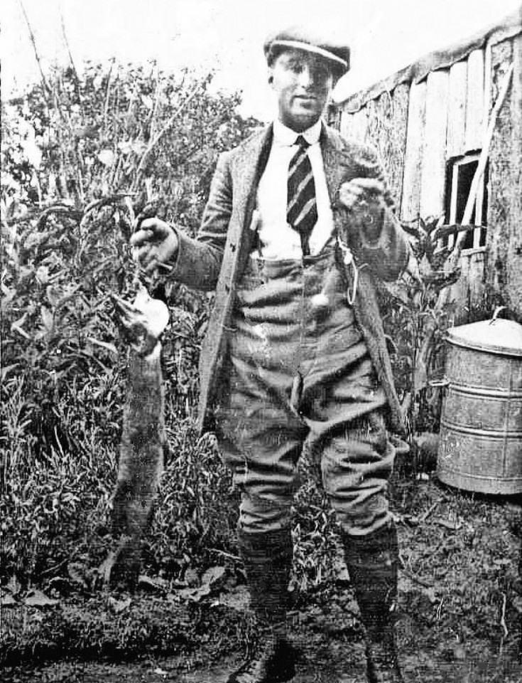 Percy Jupp from Warren Cottages, Handcross