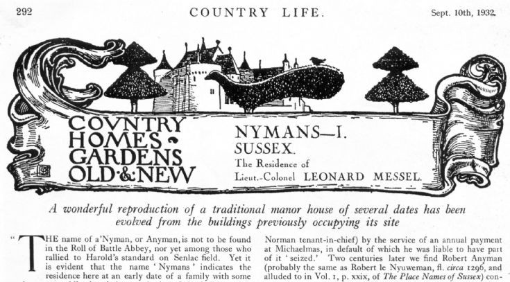 Country Life visits Nymans (1 of 3)