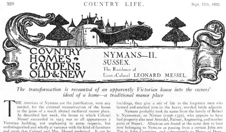 Country Life visits Nymans (2 of 3)