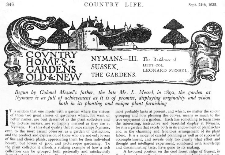 Country Life visits Nymans (3 of 3)