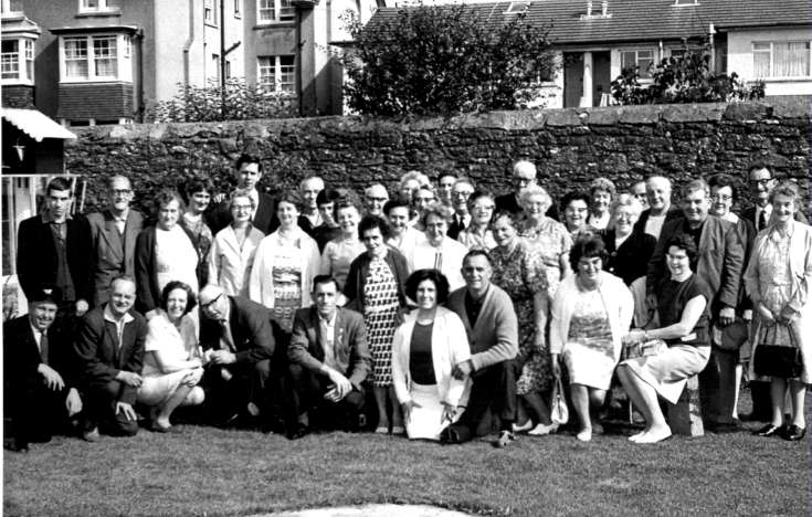 Handcross and Horsham Outing Club on holiday