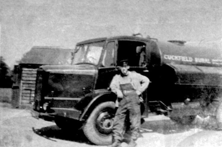 Jack Miles and the sewage collection lorry