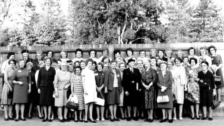 Girl Guide reunion at Handcross Primary School