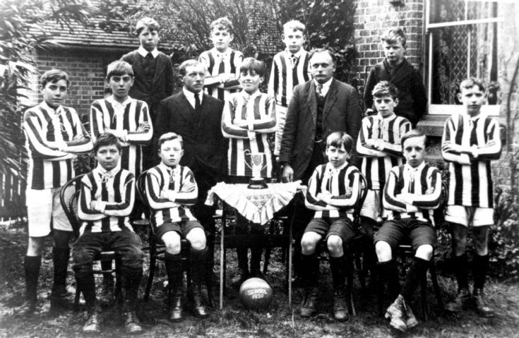 Handcross School football team 1920