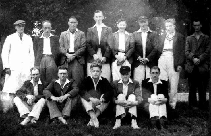 Staplefield cricket tean 1947