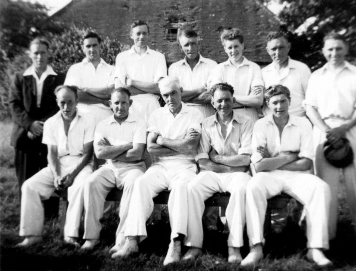 Staplefield cricket team 1953