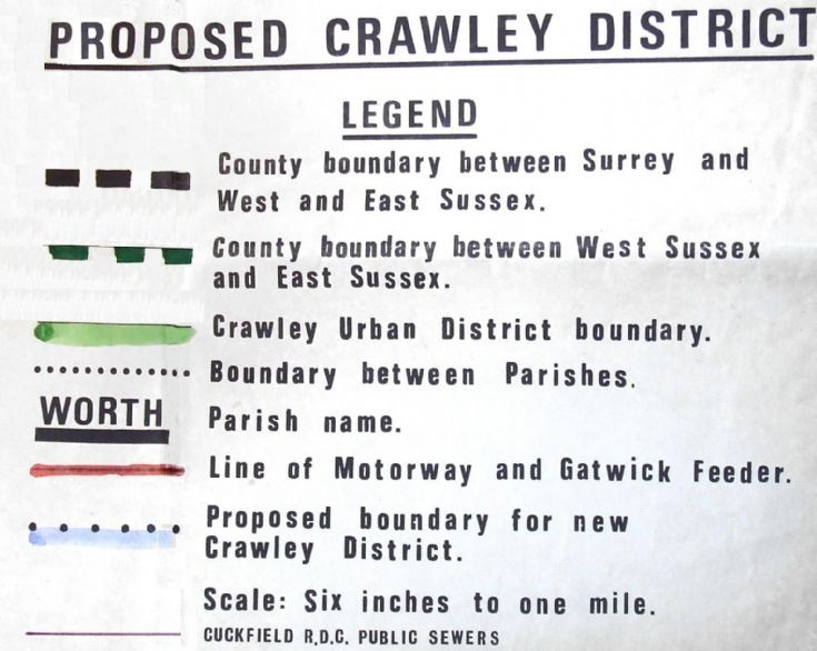 Crawley plans for Pease Pottage