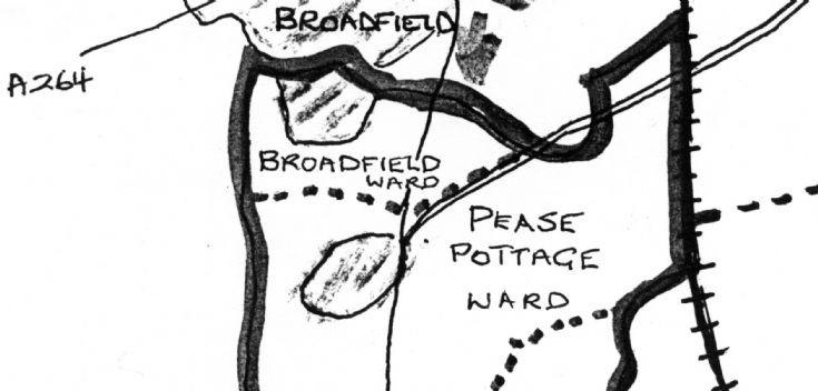 Broadfield located in Slaugham Parish!
