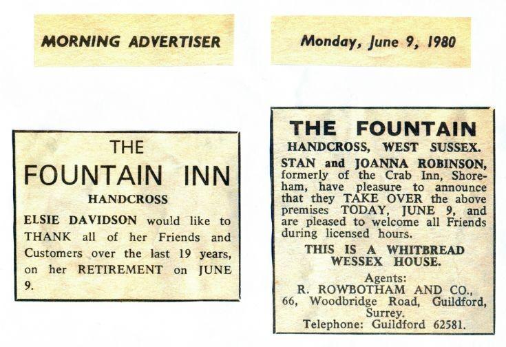 Fountain Inn, Handcross (3 of 7)