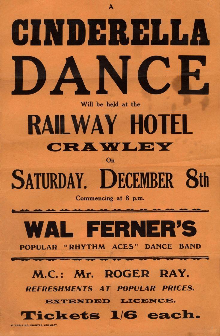 Dances (1 of 6) - Railway Hotel, Crawley