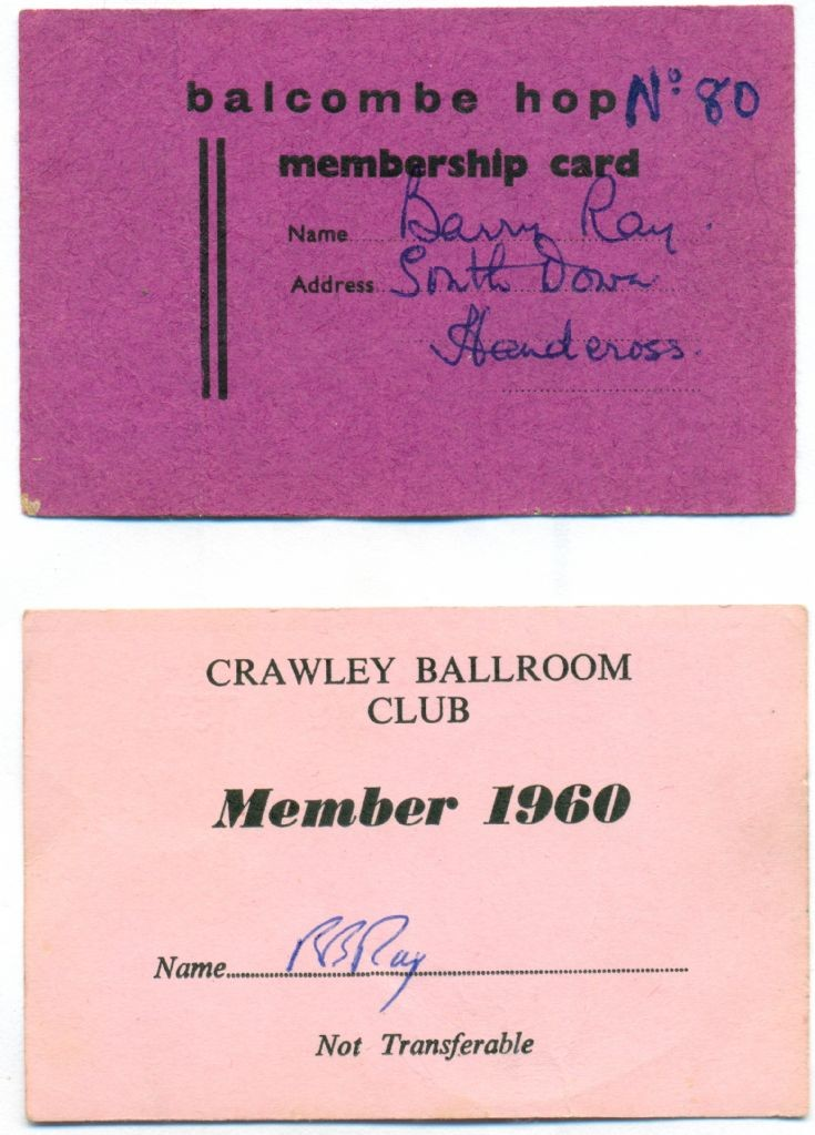 Dances (6 of 6) - Dance membership cards