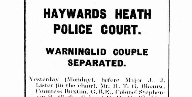 Robert and Miriam Whapham in Police Court