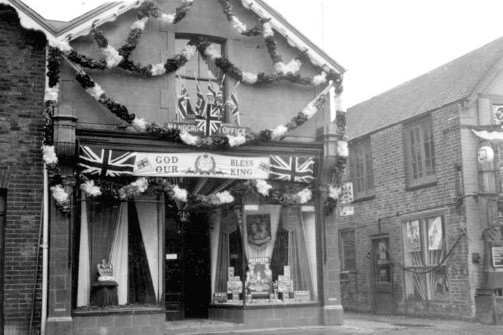 Coronation of George VI - Tulleys Stores