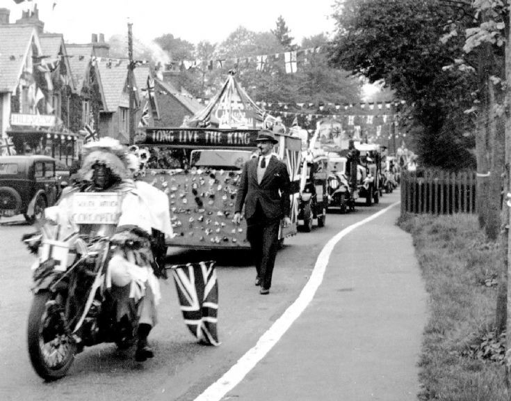 Coronation of George VI -Procession in High Street
