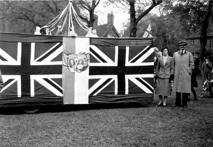 Coronation of George VI - Floats in the parade