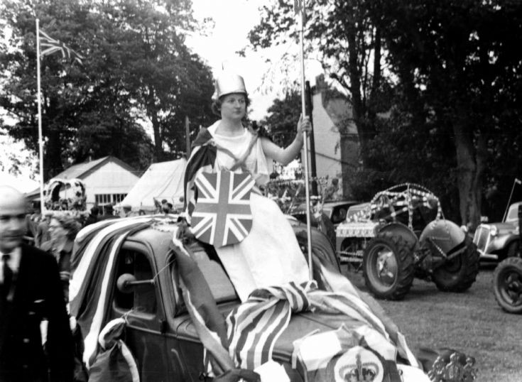 Coronation of George VI - Britannia arrives