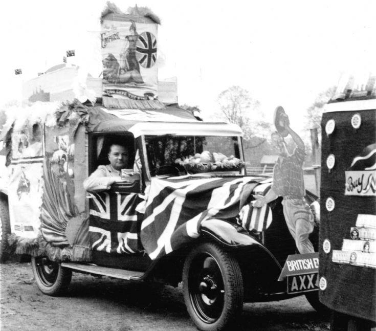 Coronation of George VI - Britiah Empire