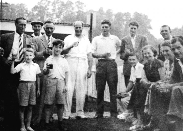 Staplefield cricketers at The Victory
