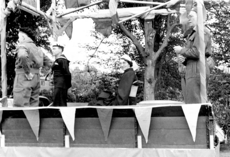Coronation day Handcross (1 of 4) Armed Services