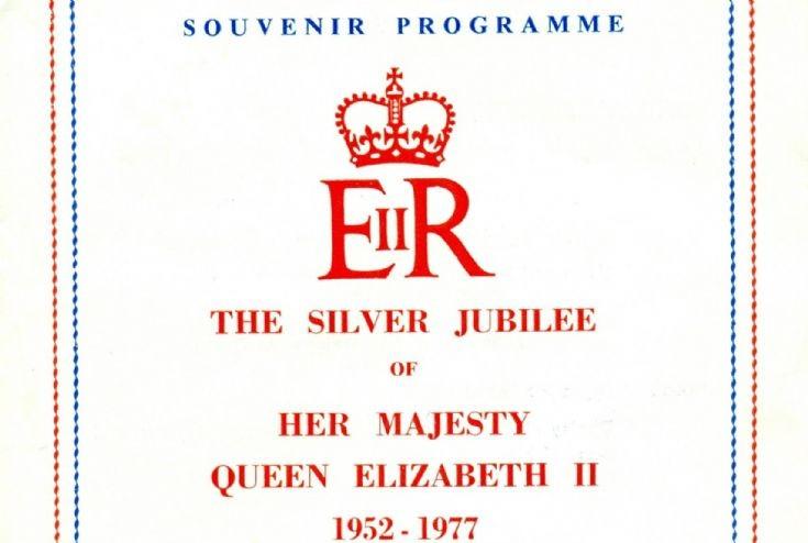 Silver Jubilee celebrations (2 of 9) - Programme