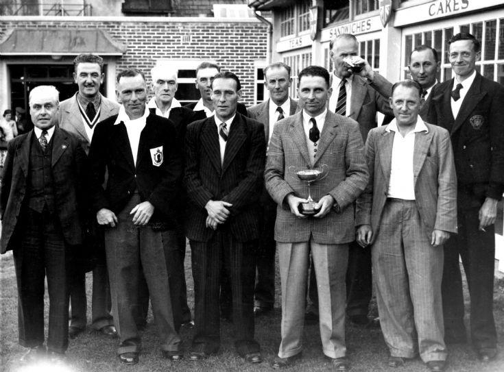 Handcross British Legion cricket team