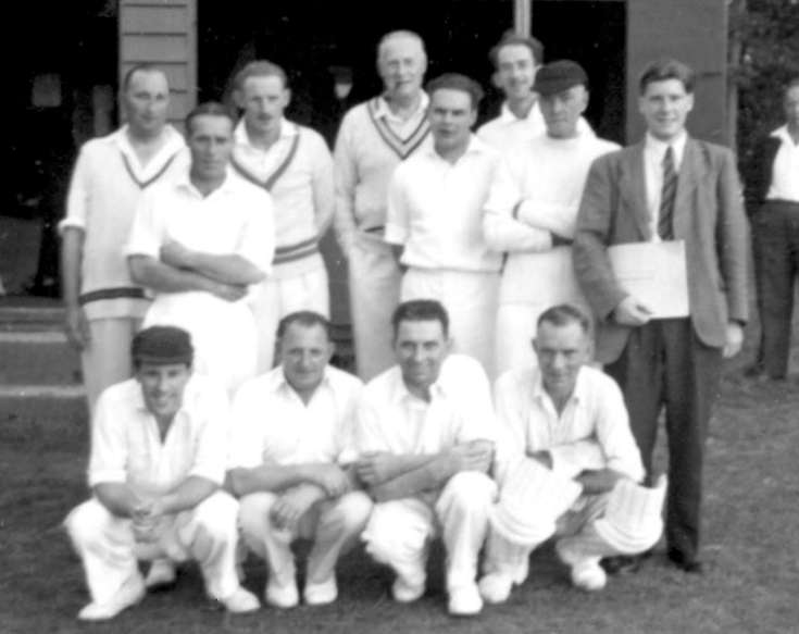 Handcross British Legion cricket cup match