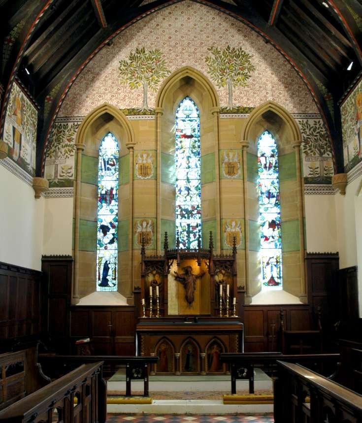 Murals of St Mark's Church, Staplefield (1 of 4)