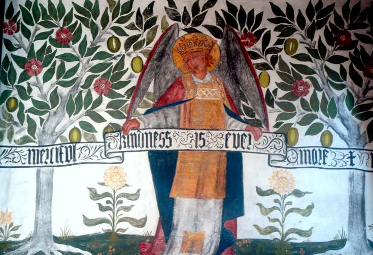 Murals of St Mark's Church, Staplefield (2 of 4)